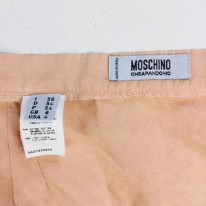 Moschino Skirts - Moschino Ladies Pink Blue Stripe Long Skirt Size 4